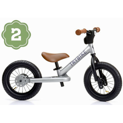 Trybike kids balance bike , steel multi use balance bike