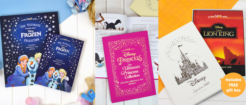 Premium personalised Disney books for kids