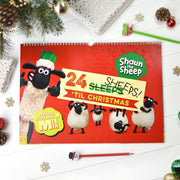 Personalised Shaun the Sheep '24 Sheeps' Activity Advent Calendar - Shop Personalised Gifts