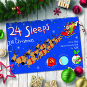 24 Sleeps 'til Christmas Personalised Advent Calendar Book - Personalised Books-Personalised Gifts-Baby Gifts-Kids Books