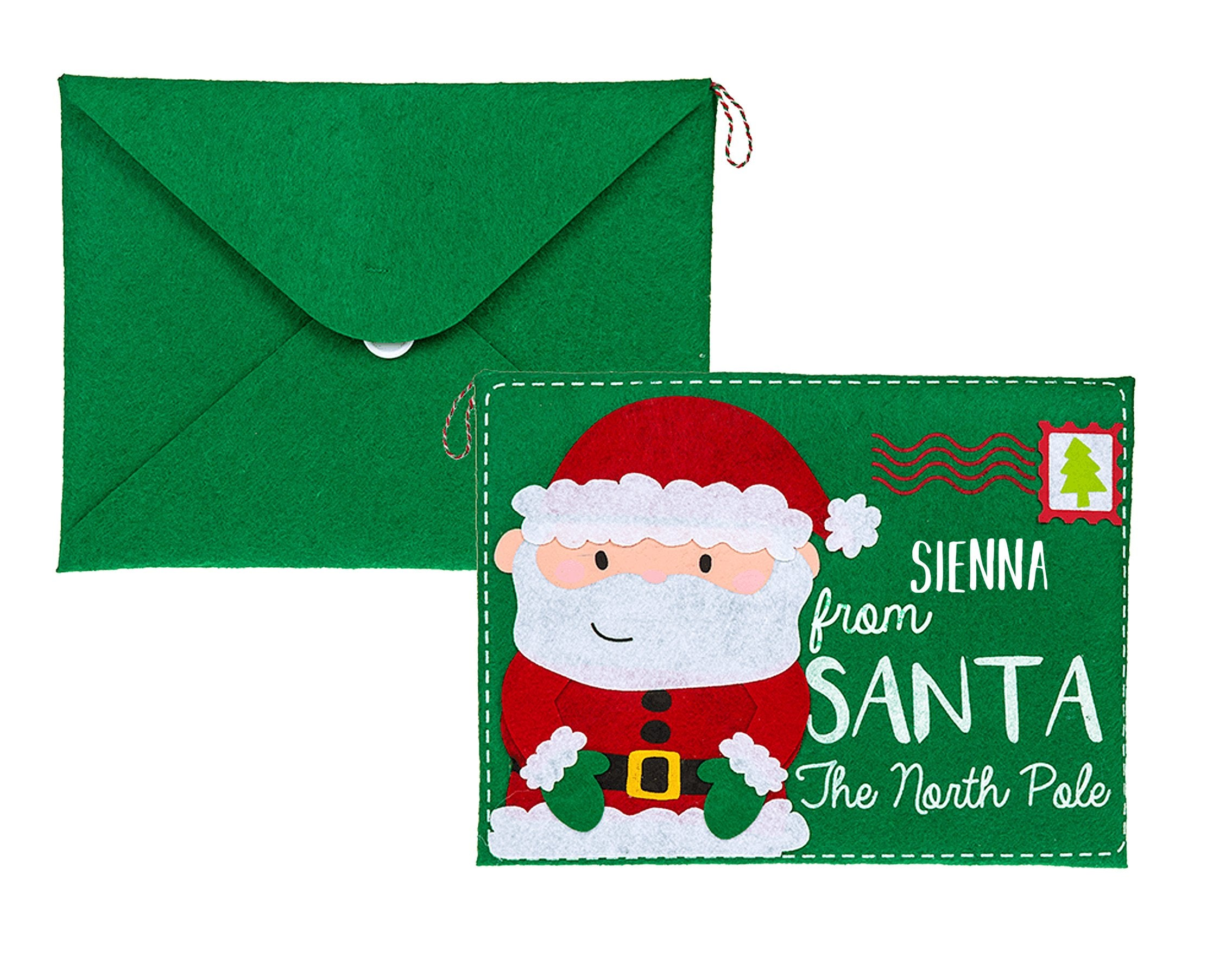 Personalised Santa Letter & Envelope Father Christmas Letter - Shop Personalised Gifts (4018954600534)