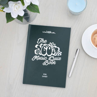 Personalised 1960s Music Quiz Book - Shop Personalised Gifts