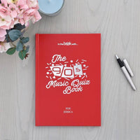 Personalised 1990s Music Quiz Book - Shop Personalised Gifts