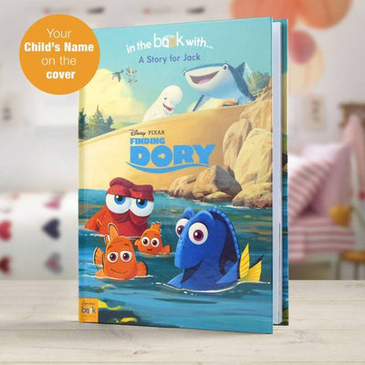 Personalised Disney Finding Dory Story Book - Personalised Books-Personalised Gifts-Baby Gifts-Kids Books