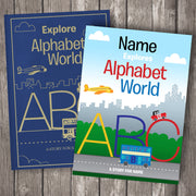 Your Child In Alphabet World Personalised Book - Personalised Books-Personalised Gifts-Baby Gifts-Kids Books