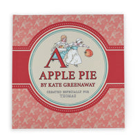 Personalised Childs A is for Apple Pie - by Kate Greenaway - Shop Personalised Gifts