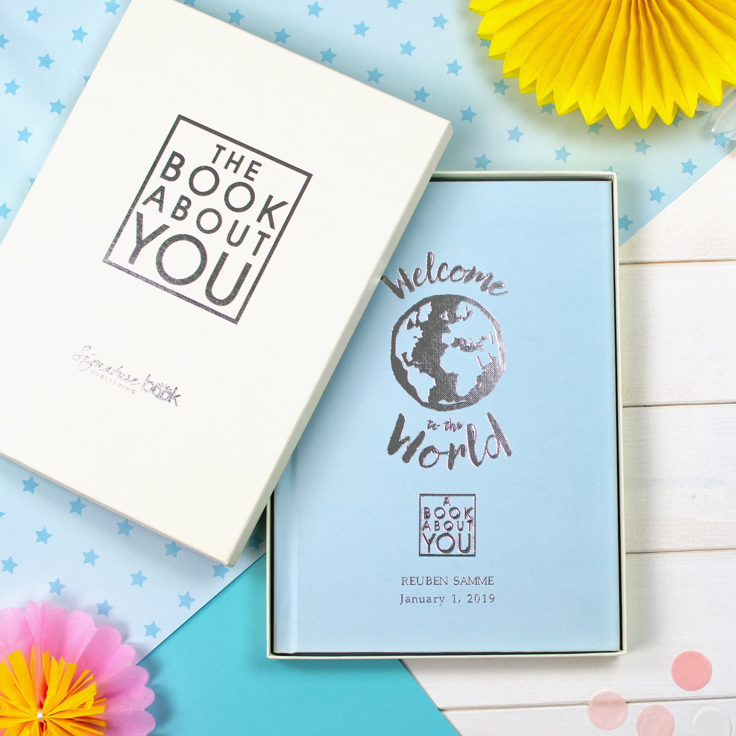 Personalised Book About You: Welcome to the World - Shop Personalised Gifts (4012601737302)