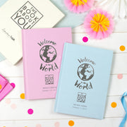 Personalised Book About You: Welcome to the World - shop-personalised-gifts