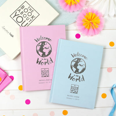 Personalised Book About You: Welcome to the World - Shop Personalised Gifts