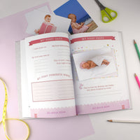 Personalised Baby Record Book - Shop Personalised Gifts
