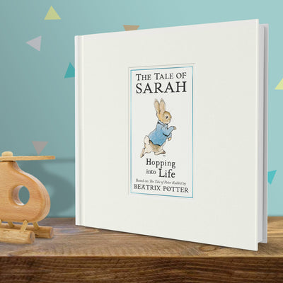 Peter Rabbit's Personalised Hopping into Life Book - shop-personalised-gifts