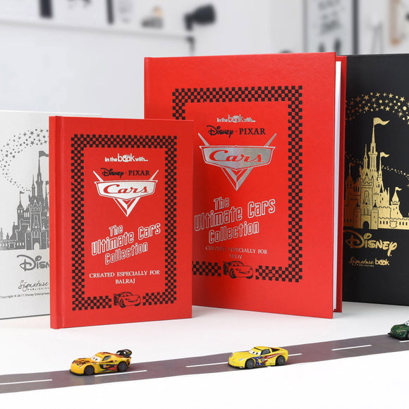 Personalised Disney Cars Collection Book - shop-personalised-gifts