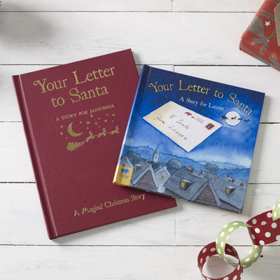 Your Letter to Santa Personalised Book - Personalised Books-Personalised Gifts-Baby Gifts-Kids Books