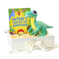Dinosaur Plush Toy and Pet Dinosaur Book - Shop Personalised Gifts