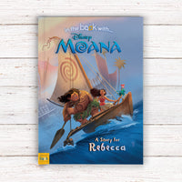 Personalised Disney Moana Story Book - Personalised Books-Personalised Gifts-Baby Gifts-Kids Books