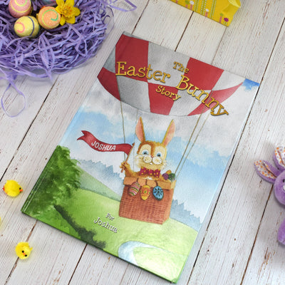 The Easter Bunny Personalised Story Book - Personalised Books-Personalised Gifts-Baby Gifts-Kids Books