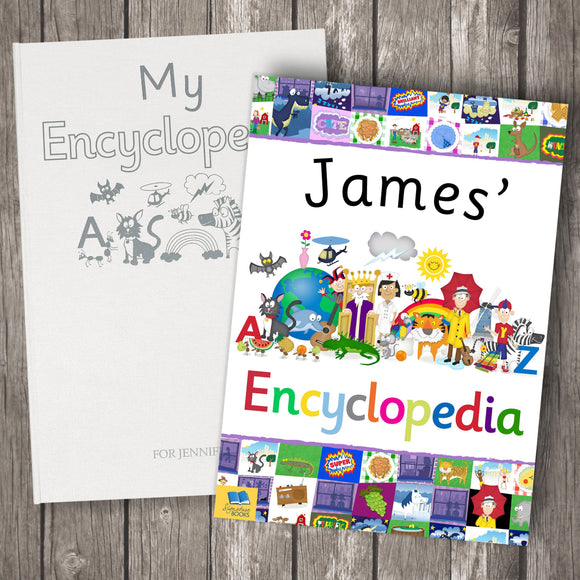 My Personalised Encyclopedia - shop-personalised-gifts