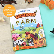 Personalised 'My Day at the Farm' Easter Story Book - Personalised Books-Personalised Gifts-Baby Gifts-Kids Books