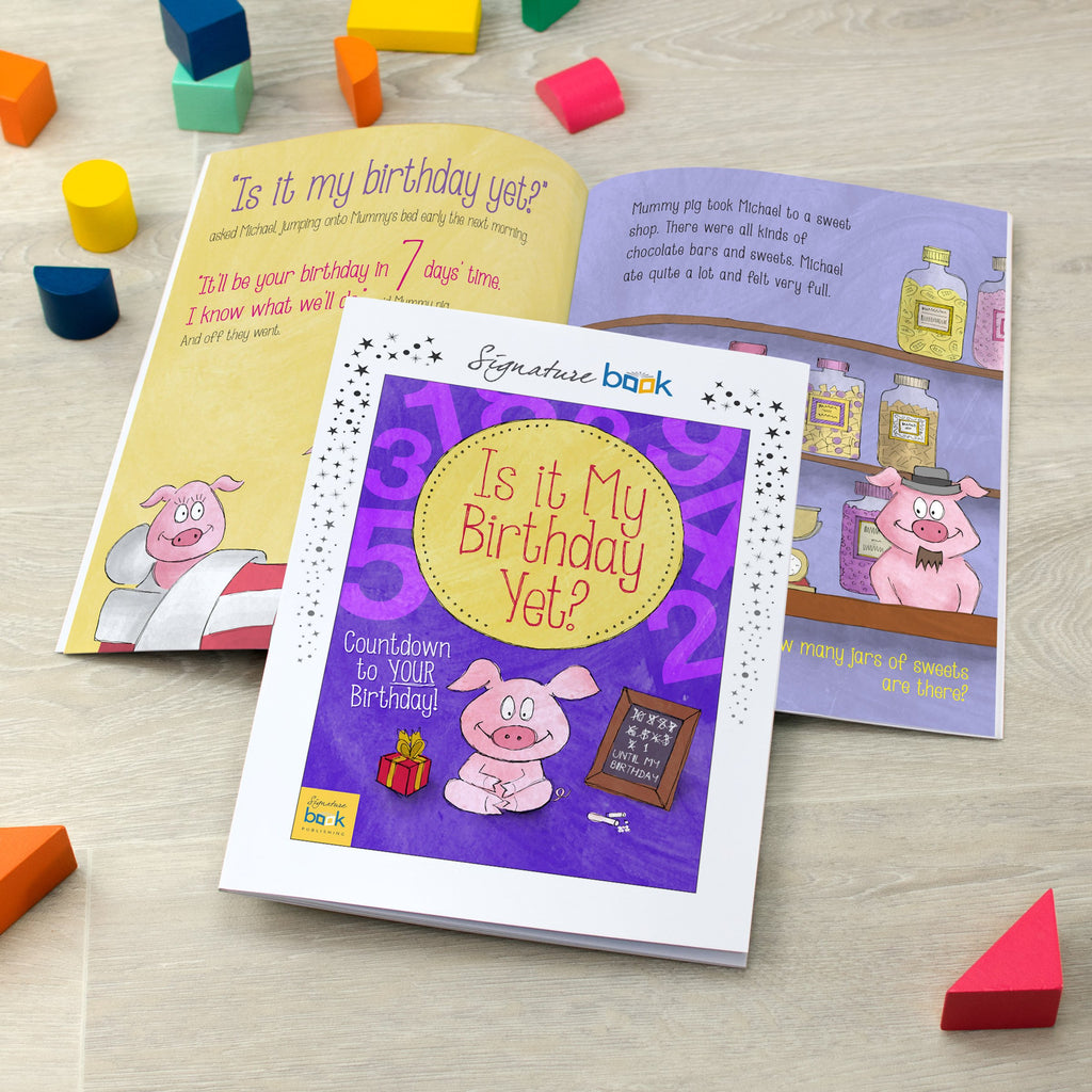 Personalised Is It My Birthday Yet Book - Shop Personalised Gifts