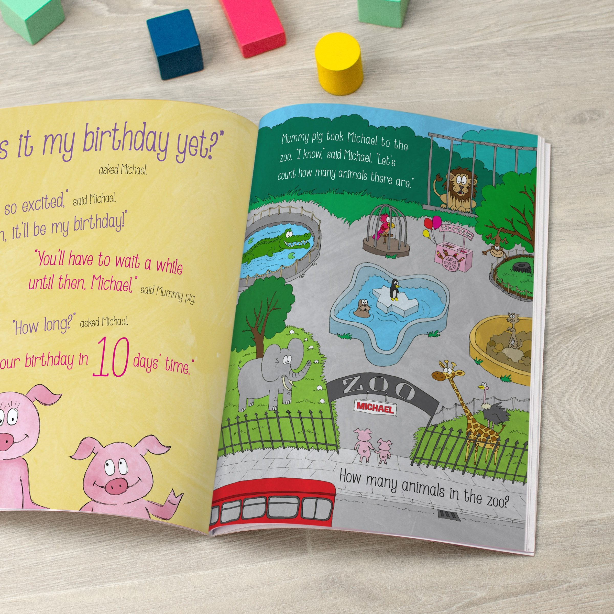 Personalised Is It My Birthday Yet Book - Shop Personalised Gifts (4700261711958)