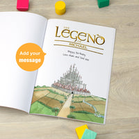 Personalised The Legend Of Name Book - Childrens Favourite - Shop Personalised Gifts