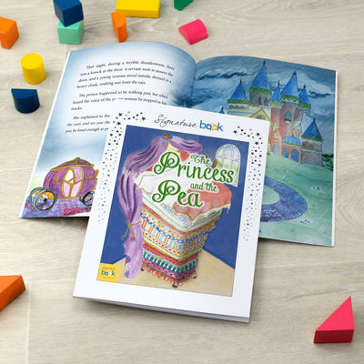 Personalised Princess and Pea Book - Shop Personalised Gifts