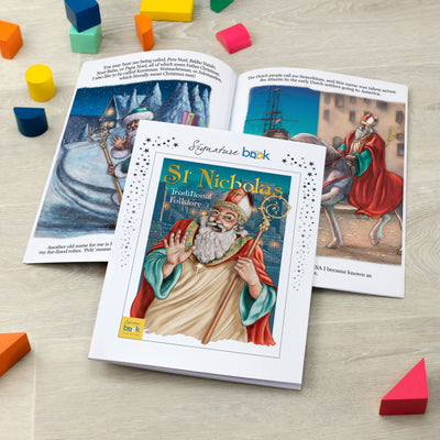 Personalised St Nicholas-Folklore Book - SPG Favourite - Shop Personalised Gifts
