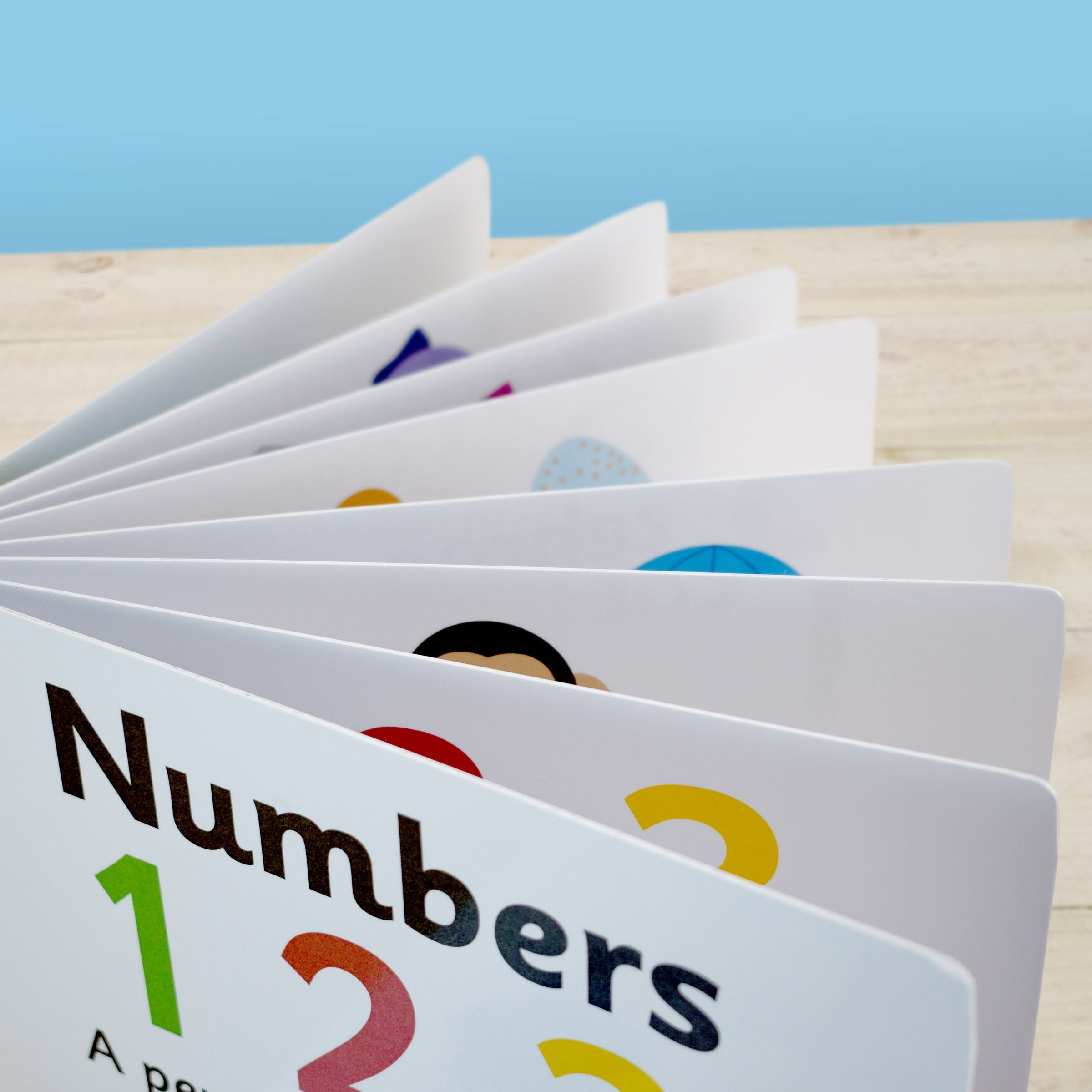 First Steps Numbers Personalised Board Book - Shop Personalised Gifts