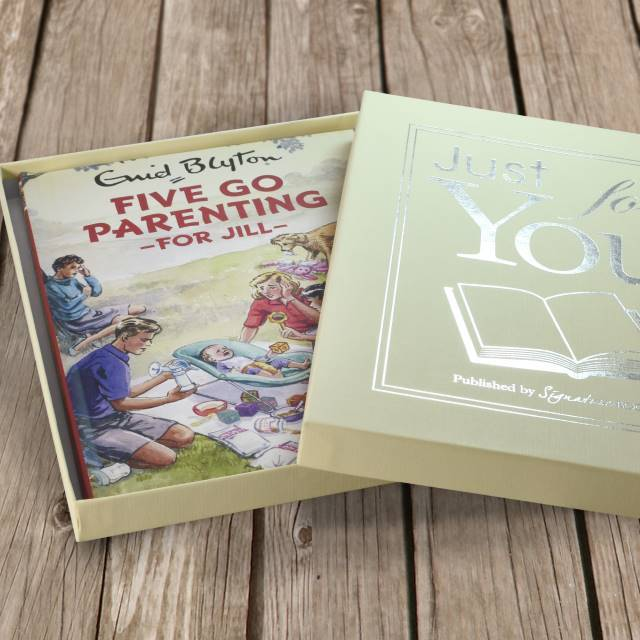 Five go Parenting: A Personalised Enid Blyton Book - Shop Personalised Gifts