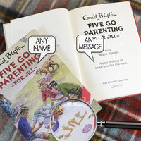 Five go Parenting: A Personalised Enid Blyton Book - Personalised Books-Personalised Gifts-Baby Gifts-Kids Books