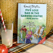 Five Lose Dad in the Garden Centre: A Personalised Enid Blyton Book - Shop Personalised Gifts