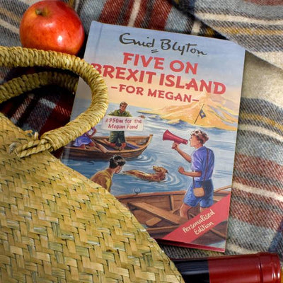 Five on Brexit Island: A Personalised Enid Blyton Book - Shop Personalised Gifts