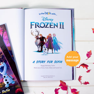 Personalised Frozen 2 Book - Shop Personalised Gifts