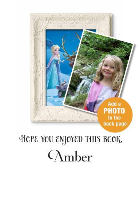 Personalised Disney Frozen Northern Lights Story Book - Shop Personalised Gifts