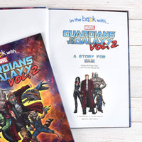 Guardians of the Galaxy 2 Personalised Marvel Story Book - shop-personalised-gifts