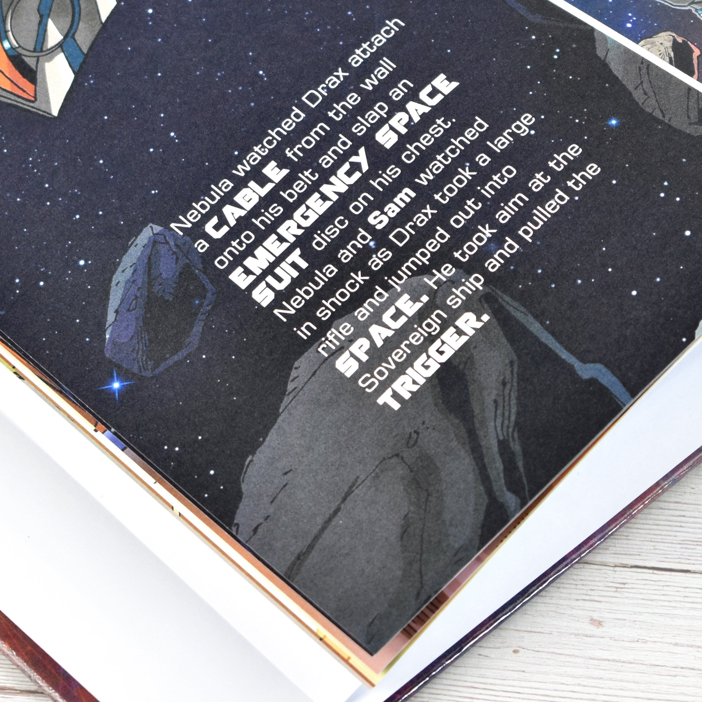 Guardians of the Galaxy 2 Personalised Marvel Story Book - Shop Personalised Gifts