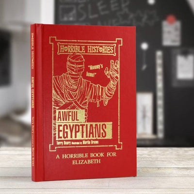 Personalised Horrible Histories Awful Egyptians Book - Personalised Books-Personalised Gifts-Baby Gifts-Kids Books