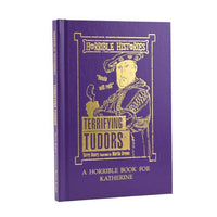 Personalised Horrible Histories Terrifying Tudors Book - Shop Personalised Gifts