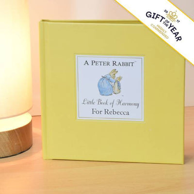 Peter Rabbit's Personalised Little Book of Harmony - Shop Personalised Gifts