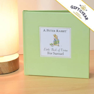 Peter Rabbit's Personalised Little Book of Virtue - shop-personalised-gifts