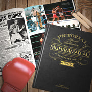 Muhammad Ali Pictorial Edition Newspaper Book - Personalised Books-Personalised Gifts-Baby Gifts-Kids Books