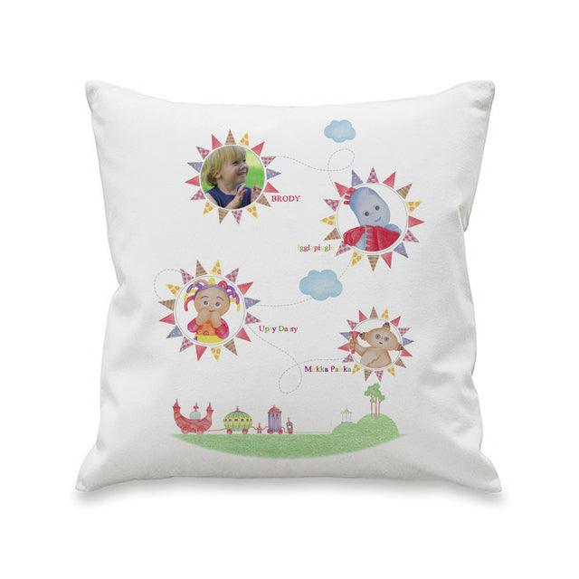 In The Night Garden Colouring Book Photo Upload Filled Cushion