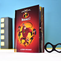 Personalised Disney Incredibles 2 Story Book - Personalised Books-Personalised Gifts-Baby Gifts-Kids Books