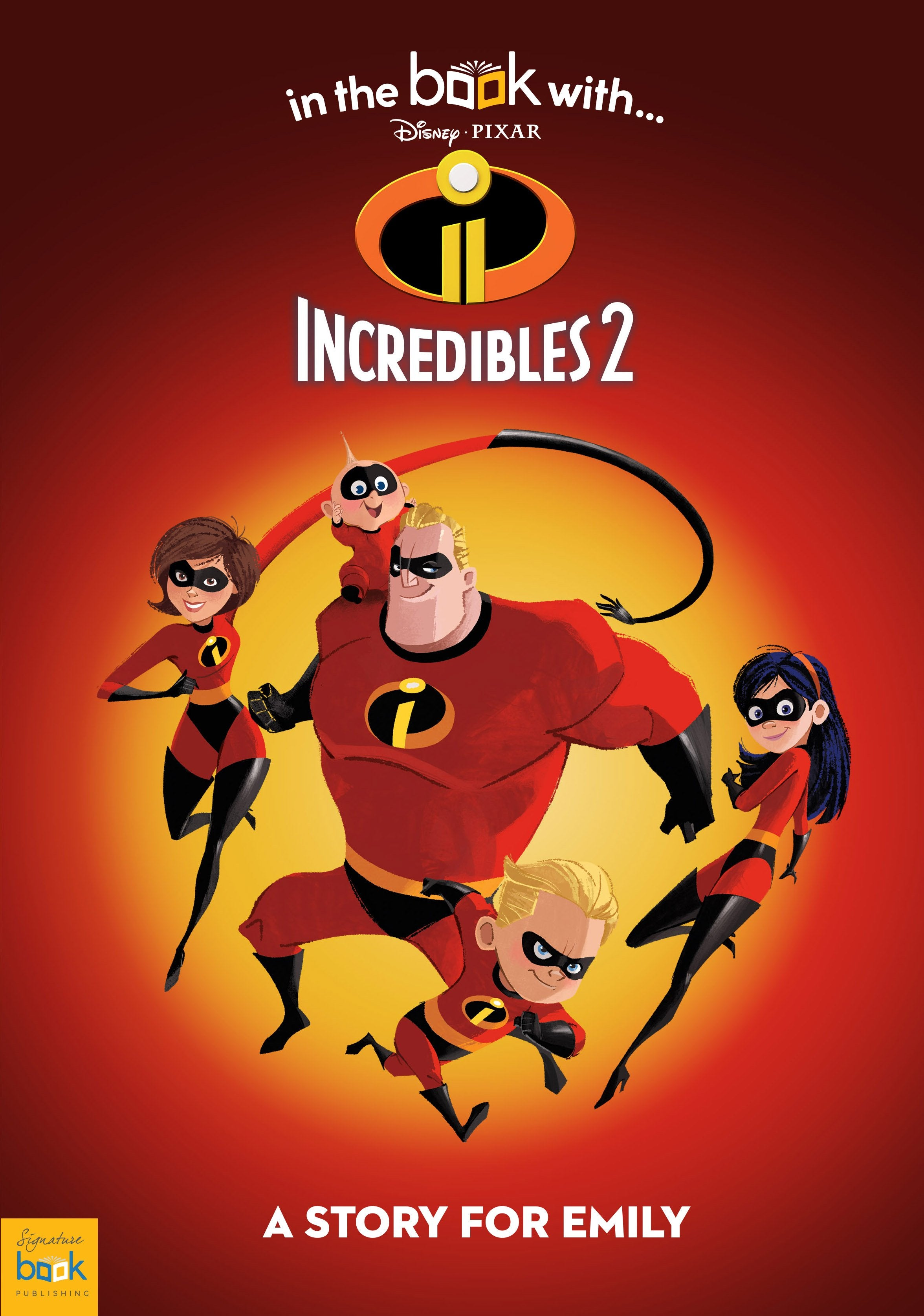 Personalised Disney Incredibles 2 Story Book - Shop Personalised Gifts