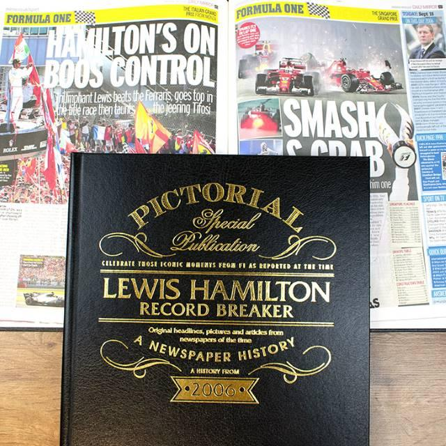 Lewis Hamilton Record Breaker – A Pictorial Newspaper Book
