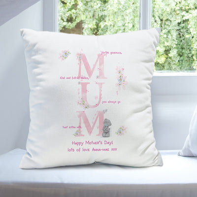 Personalised Me To You MUM Filled Cushion - Shop Personalised Gifts