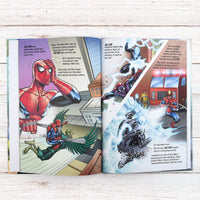Spider-man Beginnings Personalised Marvel Story Book - Personalised Books-Personalised Gifts-Baby Gifts-Kids Books