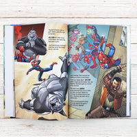 Spider-man Beginnings Personalised Marvel Story Book - Shop Personalised Gifts