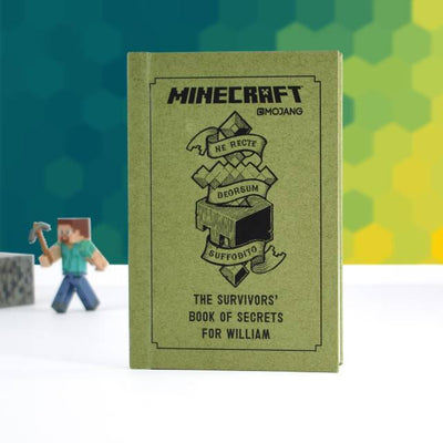 The Personalised Minecraft Survivors Guide - Personalised Books-Personalised Gifts-Baby Gifts-Kids Books