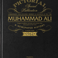 Muhammad Ali Pictorial Edition Newspaper Book - Shop Personalised Gifts
